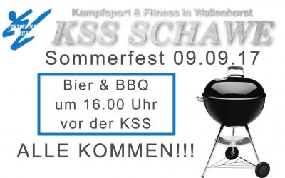 Sommerfest der KSS am 09. September 2017