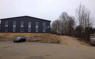 Große Fortschritte bei der neuen KSS-Halle