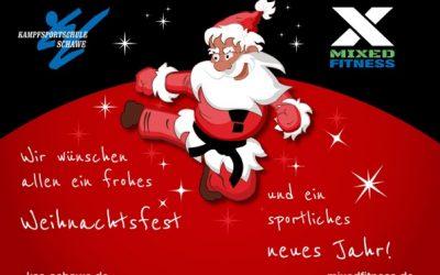 Frohe Weihnachten wünscht das KSS-Team