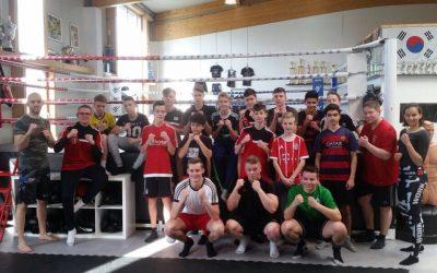 Training für die U15 Fußballer vom RW Damme