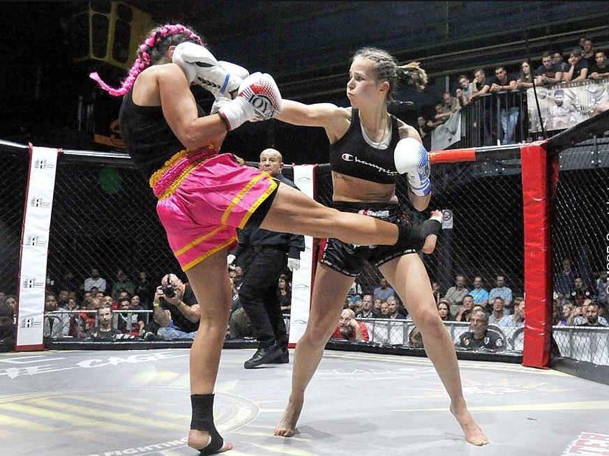 1. Hausgala/ Fight Night in der Kampfsportschule Schawe
