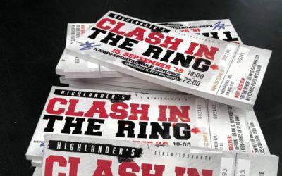 Noch 2 Wochen bis zum Clash