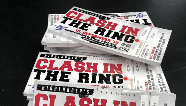 """Noch 3 Wochen bis zum """"Clash in the ring""""!"""