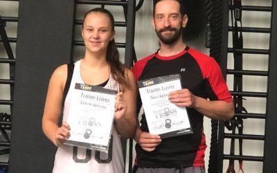 Neue Trainerlizenzen für Ronja und Jens