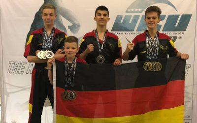 WM 2018: Ergebnis 4x Gold / 6x Silber / 1x Bronze