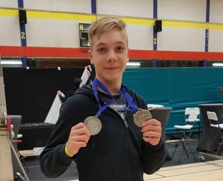2 x 2. Platz für Marlon beim Flanders Cup
