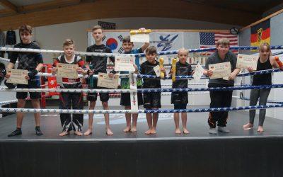 Prüfung für KSS Kickboxer